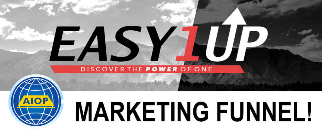 Easy1Up Marketing Funnel